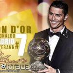 Raih Penghargaan Ballon d'Or, Cristiano Ronaldo Dapat Kado Spesial dari Sponsor