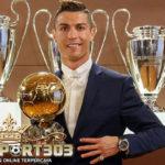 Cristiano Ronaldo Menangi Ballon d'Or 2016