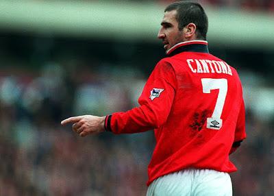 eric cantona pemain manchester united dengan nomor 7