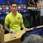 Messi: Barcelona Belum Tersingkir Dari Liga Champions