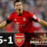 Liga Champions: Bayern Munchen Habisi Arsenal 5-1