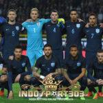 Formasi 3-4-3 Inggris Saat Kalah 0-1 Atas Jerman