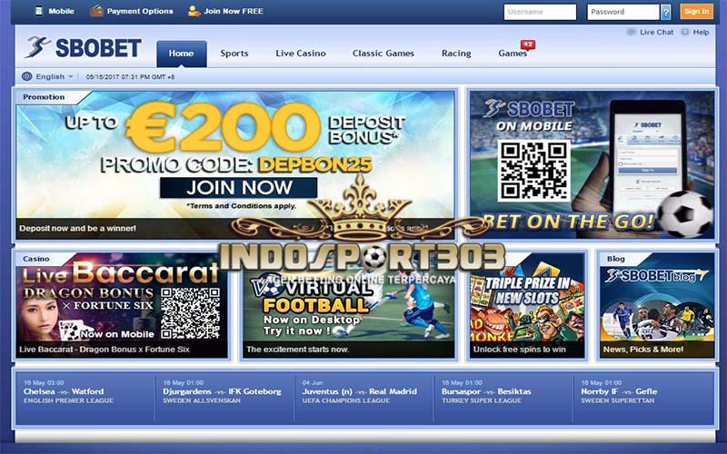 SBOBET casino, Agen Betting Online, Agen Betting Terpercaya, Sportsbook, casino, indosport303.com