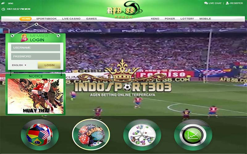AFB88, Agen Betting Online, Agen Betting Terpercaya, Sportsbook, casino, indosport303.com