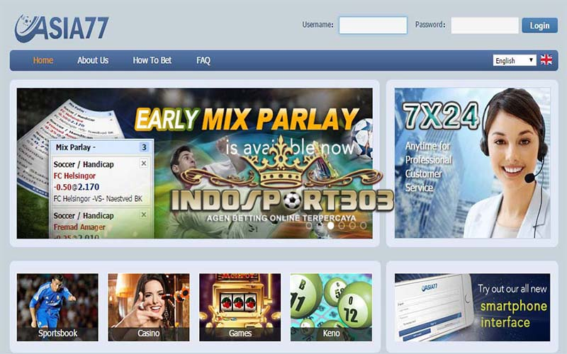 ASIA77, Agen Betting Online, Agen Betting Terpercaya, Sportsbook, casino, indosport303.com