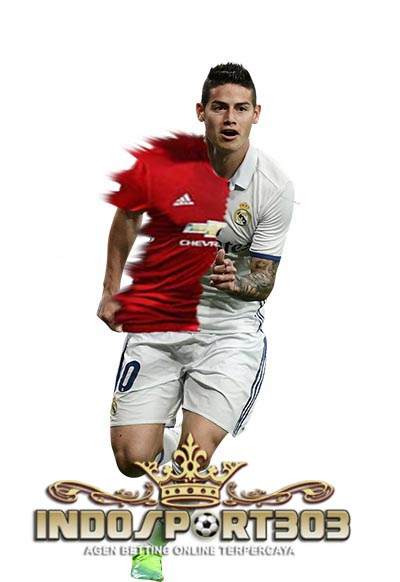 james rodriguez, james, real madrid, manchester united, transfer, berita bola, indosport303.com