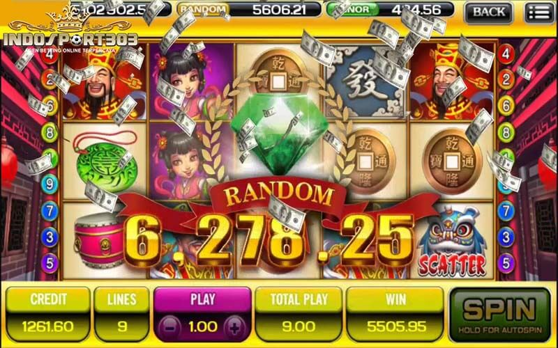 Online Slot Game Ace333