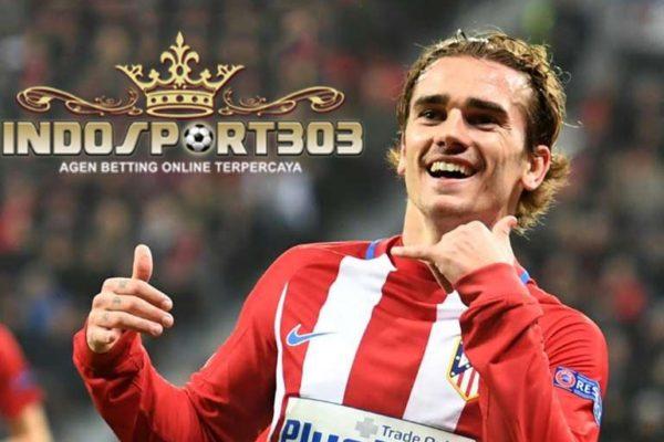 griezmann, atletico madrid, manchester united, agen betting online, agen bola online, berita bola